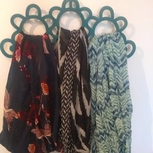 Infinity scarf lot (3)